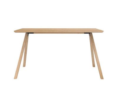 Flow Dining Table - 140x80x75cm Black