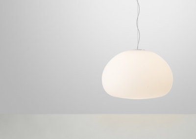 Fluid Pendant Lamp | large Opal White