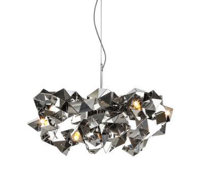 Fractal chandelier round by Brand van Egmond