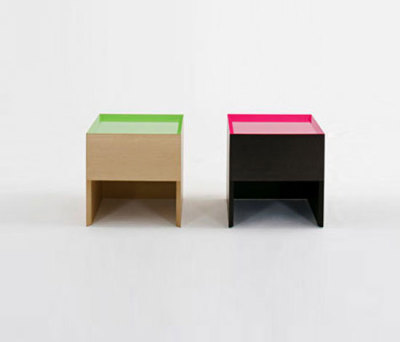 F.U. Side table by Dune
