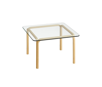 Glasstable Y805B by Artek