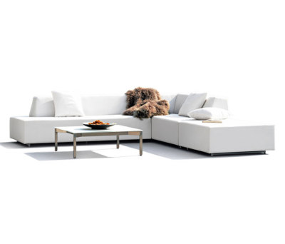 Happy Combination with two long elements and an ottoman by Rausch Classics