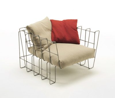 Hoop Armchair by Living Divani