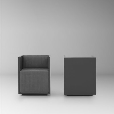 HT203 armchair by HENRYTIMI