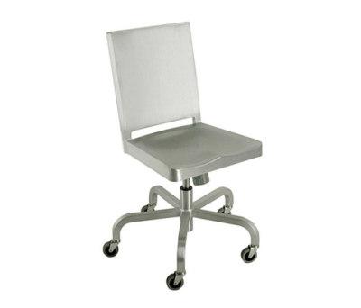 Hudson Swivel chair Hand-brushed