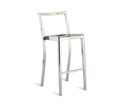 Icon Barstool Hand-brushed