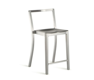 Icon Counter stool Hand-brushed