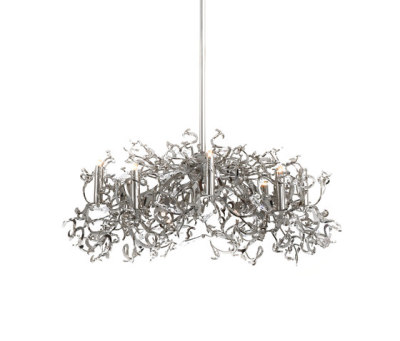 Icy Lady chandelier by Brand van Egmond