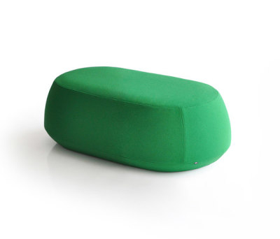 Ile Pouf 2 seater bench by Bensen