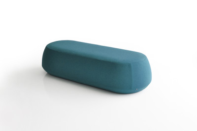 Ile Pouf 3 seater bench by Bensen