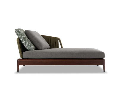 Indiana Chaiselongue by Minotti
