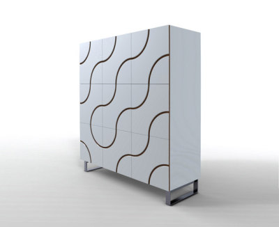 Infinity cupboard by HORM.IT