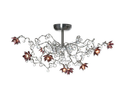 Jewel Diamond Pendant light 3D PL 9 by HARCO LOOR