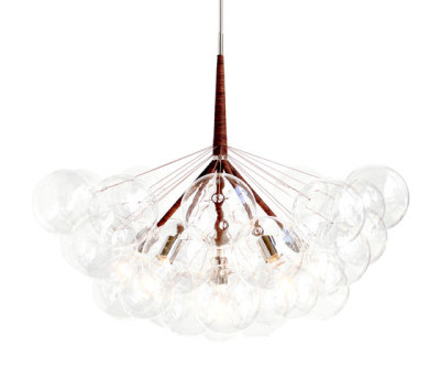 Jumbo 36 Bubble Chandelier by PELLE
