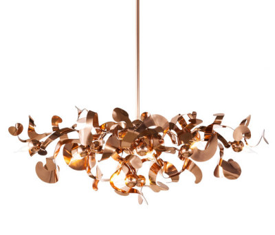 Kelp chandelier oval by Brand van Egmond