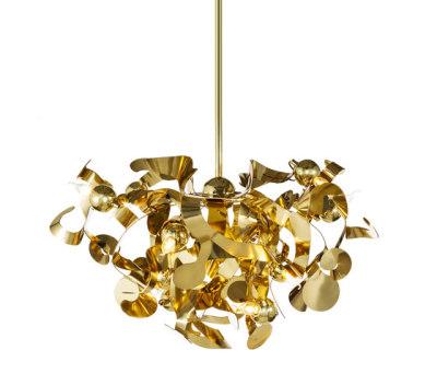 Kelp chandelier round by Brand van Egmond