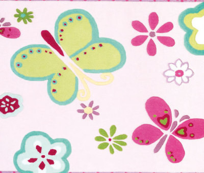 Kids Rugs - Elgin Flower by Designers Guild