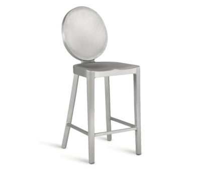 Kong Counter stool Hand-brushed