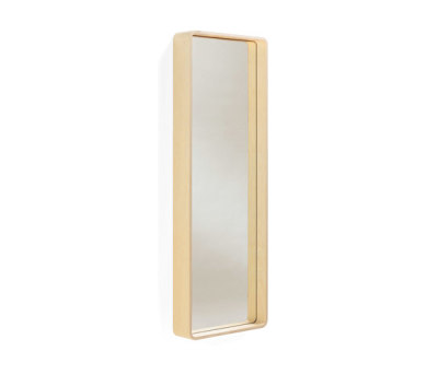Kvadrat wall mirror by Materia