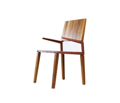 L chair by Hookl und Stool
