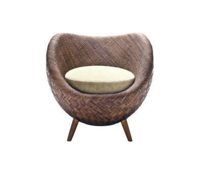 La Luna Easy Armchair by Kenneth Cobonpue