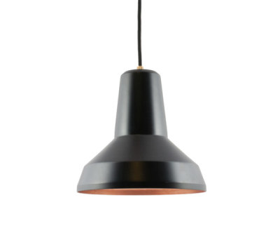 Lampe schwarz by Soeder