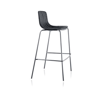 Lapala Hand-woven barstool by Expormim