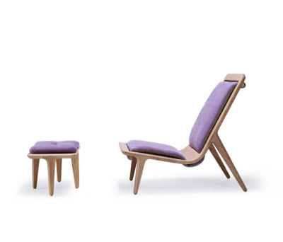 LayAir 01 Armchair & Ottoman by Hookl und Stool