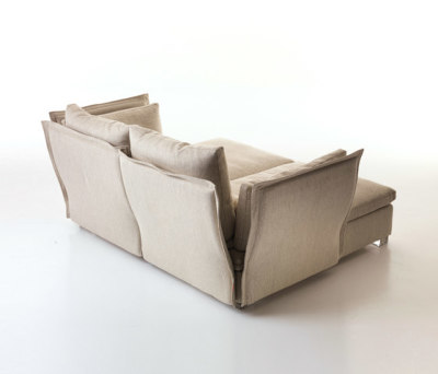 Le Bateau | deep sofa by Mussi Italy