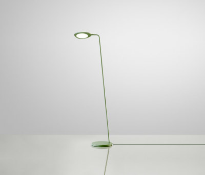 Leaf Lamp | floor Green