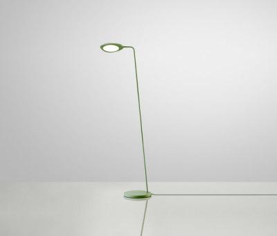 Leaf Lamp   floor Green