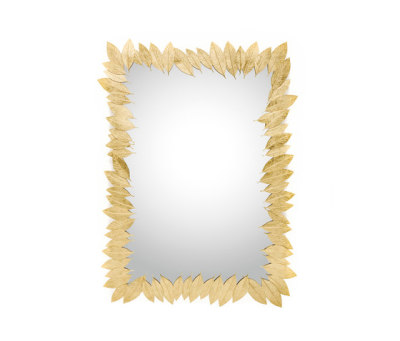 Leaf | Rectangular Mirror by GINGER&JAGGER