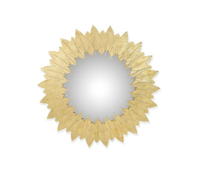 Leaf | Round Mirror by GINGER&JAGGER