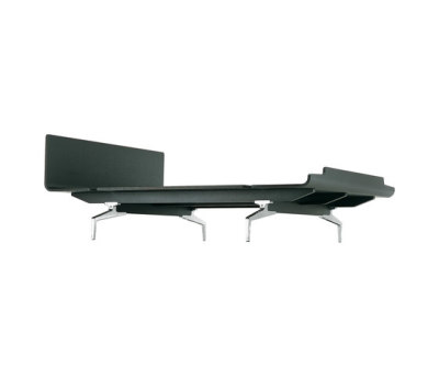 legnoletto LL4 160 polished legs matt lacquered black