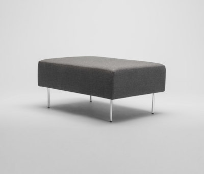 Levit Ottoman by Comforty