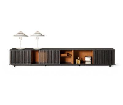 Lloyd storage unit by Poltrona Frau