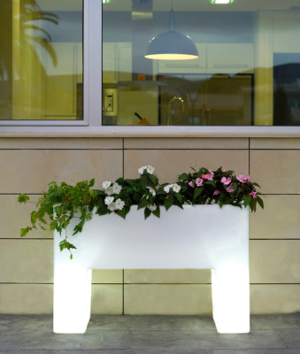 Muro Planter - 120 x 40 x 80 cm White