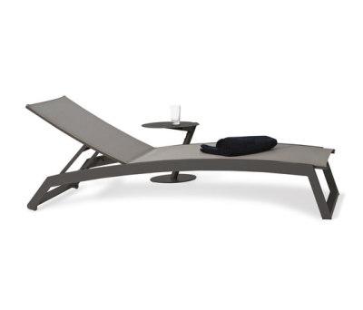 Long Beach Sun lounger aluminium adjustable by Rausch Classics