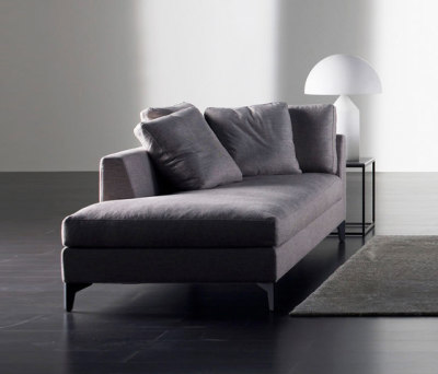 Meridiani on clippings for Chaise longue bank