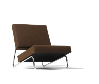 Lounge chair Hirche by Lampert