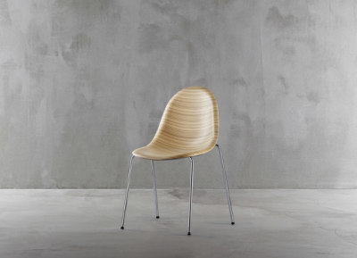 Luna chair 1310-20 by Plank