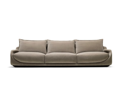 Martini Three-seat Sofa by Giorgetti