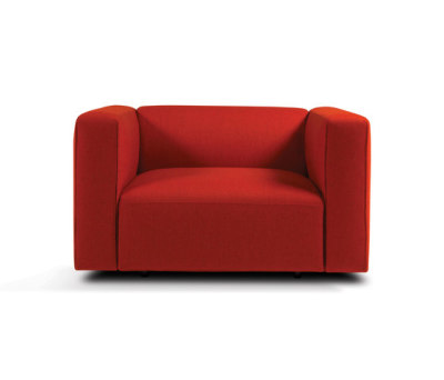 Match armchair by Prostoria