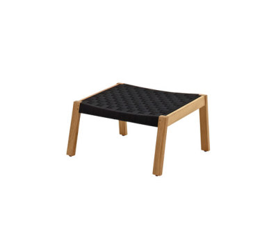 Maze Footstool by Gloster Furniture