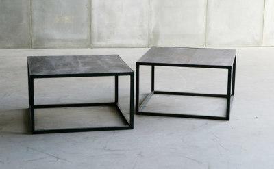 Mesa Leather coffee table by Heerenhuis