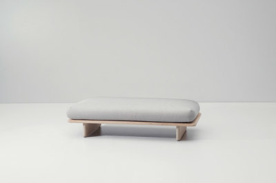 Mesh bench by KETTAL