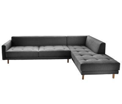 Metropolis 3 seat sofa + corner unit by Case Furniture