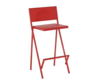 Mia barstool - set of 2 Scarlet Red