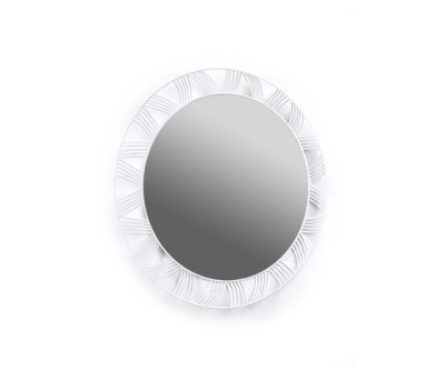Mirror Round white by Serax