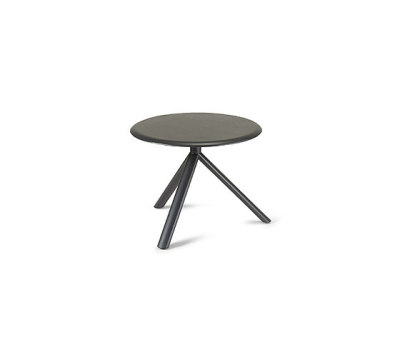 Miura round coffee table by Plank